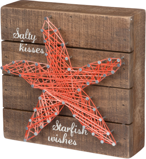 Coastal Decor Sea Star String Art Starfish