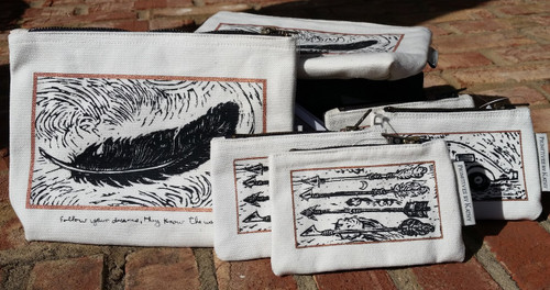 New Block Art Print Collection.  Bags available in small and large sizes.