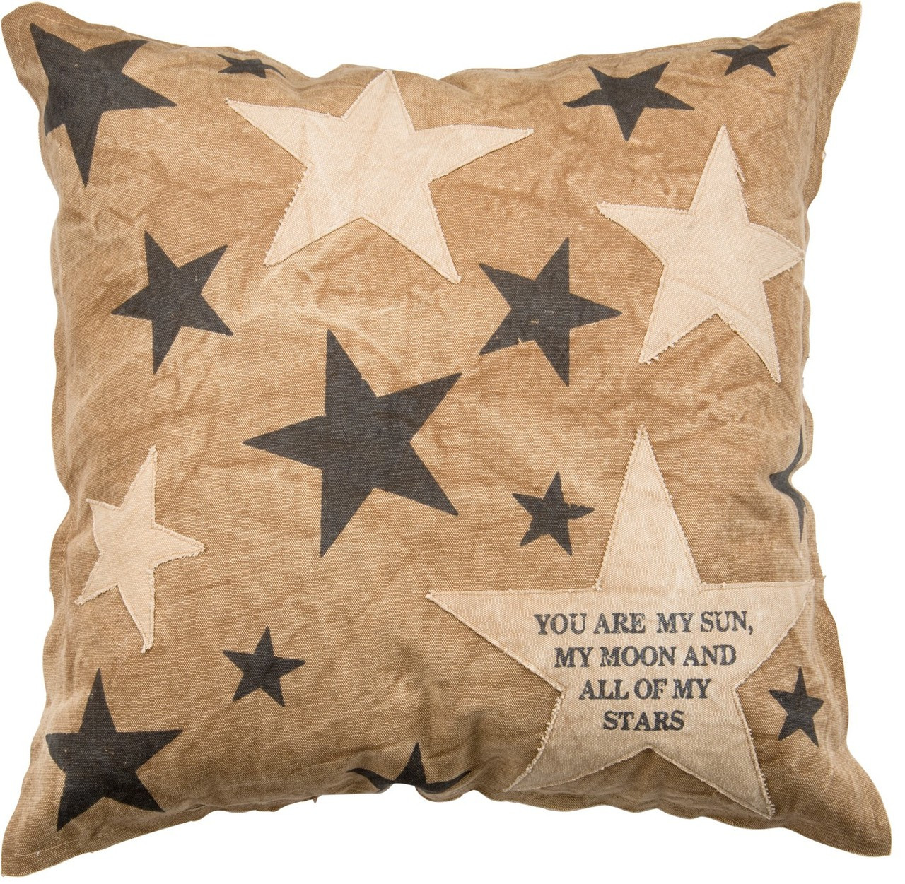 You Are My Sun Moon And Stars 20 Square Throw Pillow Smudgy Monkey