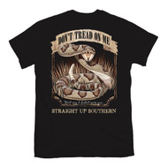 Don't Tread On Me Rattlesnake Logo Gadsden T-shirt