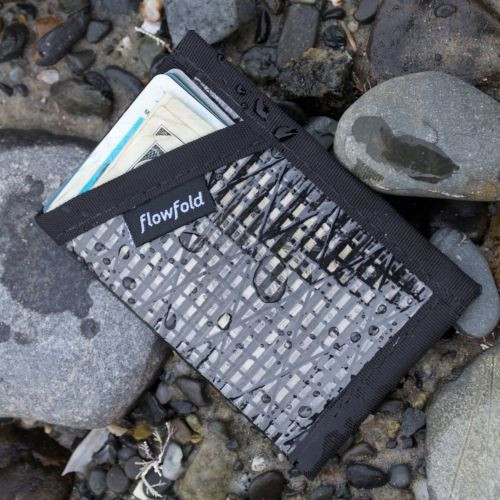 Flowfold wallets are water resistant and built to last!