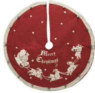"Small tree skirt. 24"" Diameter. Perfect for small, mini or table top trees!"