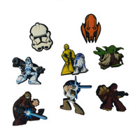 Star Wars Collection of Authentic Jibbitz Shoe Charms For Crocs Shoes
