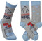 Let the nurses in your life know you are thankful for them! Awesome nurse socks from Primitives By Kathy