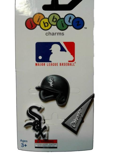 Jibbitz Shoe Charms for Crocs MLB Chicago White Sox set