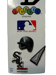 Jibbitz Shoe Charms for Crocs MLB Chicago White Sox set
