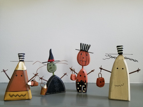 Halloween Chunky Sitters from Primitives By Kathy