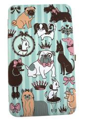 Doggy Boudoir Flat Metal Frame Opera Wallet