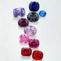 Variety of Colorful Spinels | New August Birthstone
