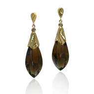 Twisted Stone Earrings from Keiko Mita's Sand Dune Collection