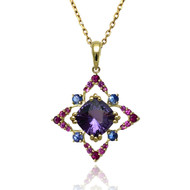 Keiko Mita's Starburst Pendant from her Sunburst Collection.