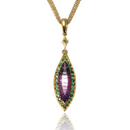 Keiko Mita's Amethyst Pendant form her Sunburst Collection