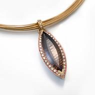 Keiko Mita's  Smoky Quartz Pendant | Smoky Quartz | Handmade Designer Jewelry