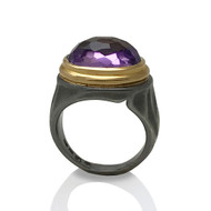 Amethyst Gemrock Ring from K.Mita | Sand Dune Collection