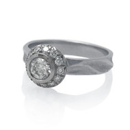 Ice Diamond Ring by K.MITA | Bridal | Handmade Fine Jewelry by K.MITA
