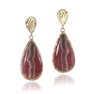 Sedona Earrings from K.Mita | Rhodocrocite
