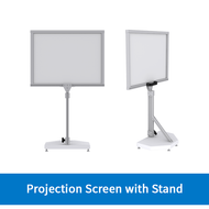MRI-Compatible Rear-Projection Screen Stand