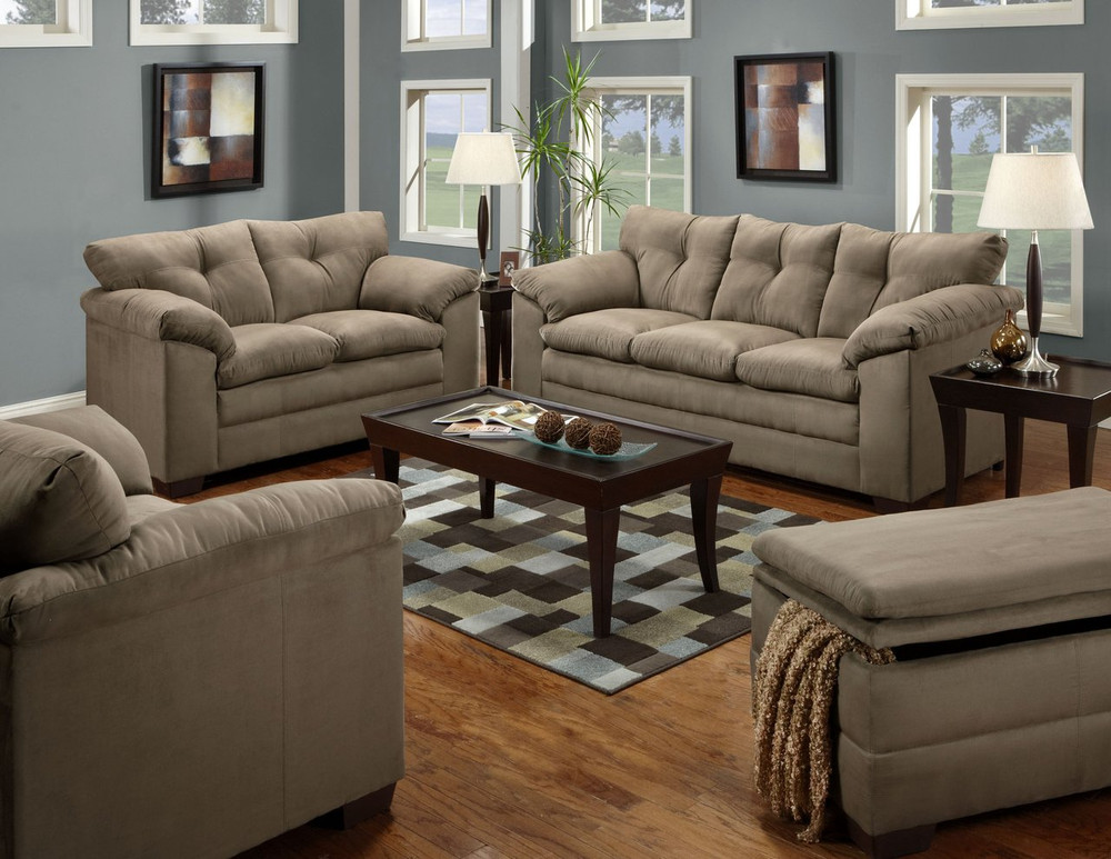 Simmons Luna Mineral Living Room Set Masters Buy Or Lease