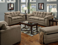 Simmons Luna Mineral Living Room Set