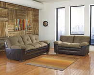 Ashley Hodgson Caramel Living Room Set