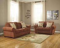 Ashley Deandre Lava Living Room Set
