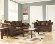 Ashley Darcy-Mocha Sofa Set
