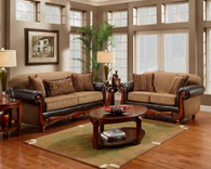 Radar Mocha Sofa Set