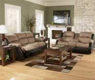 Ashley Presley Reclining Sofa Set
