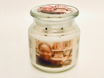 Our custom made PHOTO & MESSAGE candle creates a very special memorable gift for any occasion--celebration or bereavement. NOTE:  Please allow at least 7 days advanced notice for processing custom candles.   PHOTO:  If upload fails, email your jpeg photo to ie.spa.indulgences@gmail.com.  Be sure to reference your order# in the subject line.  For best results, a landscape photo is best.  MESSAGE:  Enter the message that you want to appear on the candle.  Indicate if you want it on the front of the candle or on the back of the candle.  FREE GIFT WRAPPING