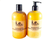 REJUVENATING BODY WASH:  comes with one nylon pouf sponge and in either a disc top or a pump top.  This light body wash is not a thick gel or body wash but your body will love it nonetheless.  For maximum suds, this body wash is best used with a pouf sponge.   A little goes a long way to add moisture to your body while also providing a refreshingly clean feeling.  Ingredients:  This natural cleansing wash is made with pure castile soap, organic raw honey, buttermilk powder, vegetable glycerin, essential oils, fragrance oil, a special oil blend including jojoba oil, organic unrefined coconut oil, grape seed oil, vitamin E, guar gum, and xanthan gum.  Customers:  Select the scent of your choice.  FOR EXTERNAL USE ONLY.