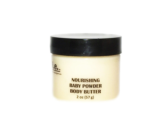 "NOURISHING BODY BUTTER MINI:  This Nourishing Body Butter Mini is the perfect item to give as a party favor for a Bridal Party, Spa Party, Anniversary Party, Birthday Party, Gift for Teachers, Church Functions, Auxiliary Groups, Thank You Gifts, Baby Shower Gifts, or Office Gifts.  It is our famous body butter in a mini.  Friends, family, Teachers, Colleagues, Associates, will love this buttery goodness that nourishes the body. It is made with the finest natural ingredients that your body will love.  Enjoy treating yourself to this nourishment daily.  You will not only enjoy how your skin feels but you are sure to have people saying to you, ""wow, you smell so good! what is that you are wearing?""  It is sure to provide your skin with the nourishment it needs in all climates.  Proprietary blend of five natural butters including pure african shea butter, mango butter, monoi butter, cocoa butter, and almond butter, beneficial oils of organic unrefined coconut oil, argan oil, and sweet almond oil; beeswax (in warmer climates), aloe vera, vitamin E and fragrance and essential oils.  Size:  2 oz (57 g).  Customers:  Minimum 10 purchase of this item.   Ask about bulk pricing, special blends, and custom labeling for these special events."