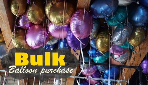 Bulk Purchase Balloons