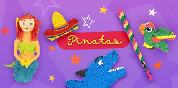 Pinatas and Games