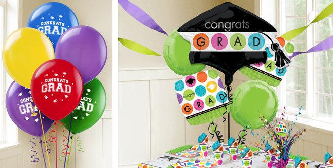 Berry Graduation Balloons