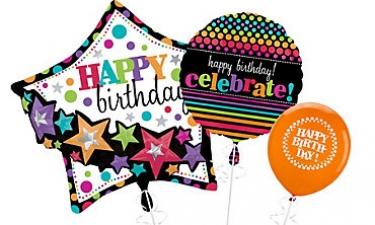 Generic Happy Birthday Balloons Fun Party On