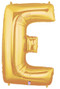 "40"" Megaloon Letter E Gold Balloon"