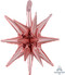 "G40 20"" Magic Star™ Small Rose Gold Multi-Balloon"