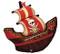 "40"" Pirate Ship"