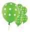 """11"""" Kiwi Green Polka Dots Latex Balloon"""