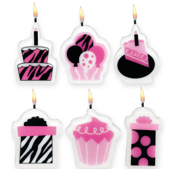 Fabulous Birthday Candle Set Image 1