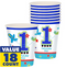 All Aboard 1st Birthday Cups, 9 oz.