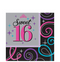 Celebrate Sweet 16 Lunch Napkins 16ct