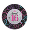 Celebrate Sweet 16 Dessert Plates 8ct