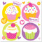 Cupcake Wonderland Lunch Napkins