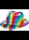 Disco Fever Rainbow Fedora - Vac Form
