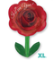 "18"" I Love You Rose with Stem - Valentine S50"