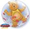 "24"" Love Hearts & Bear Double Bubble Balloon"