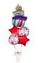 P75 Happy Birthday Balloon Fun Bouquet