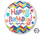 Happy Birthday Chevron Star Standard HX® S40