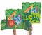 Peek-A-Boo Jungle Pull Pinata